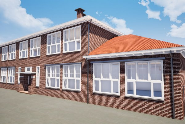 Referentie School te Eindhoven voor aanzicht Van Ierssel