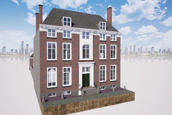 Referentie Woning Den Haag voor aanzicht Van Ierssel