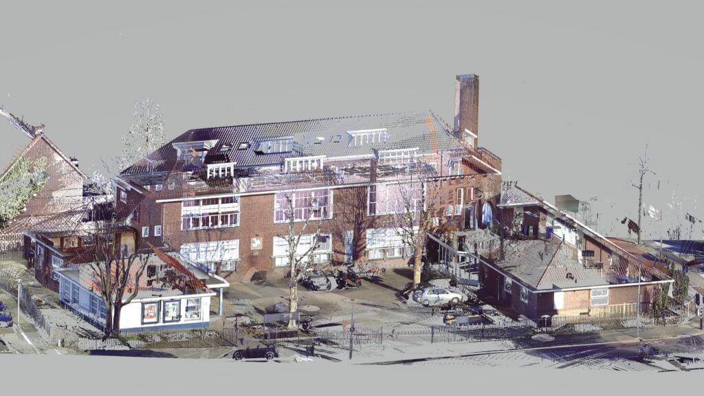 Referentie kantoor Eindhoven point-cloud 2 Van Ierssel