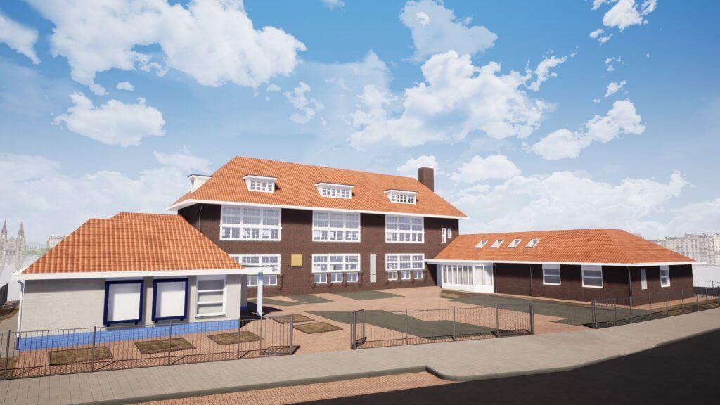 Referentie kantoor Eindhoven BIM voorgevel Van Ierssel