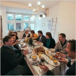 Workshop lunch 2 Van Ierssel